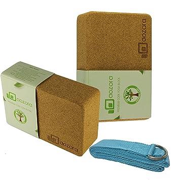 Amazon.com : |Hot Sale| Aozora Cork Yoga Block | Sustainable ...
