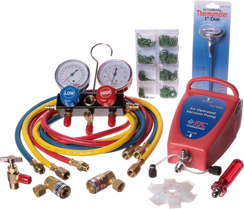 FJC KIT4 Air Conditioning Starter Tool Kit