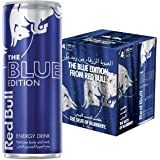 Red Bull The Blue Edition Blueberry Energy Drink - 250ml (Pack of 4)