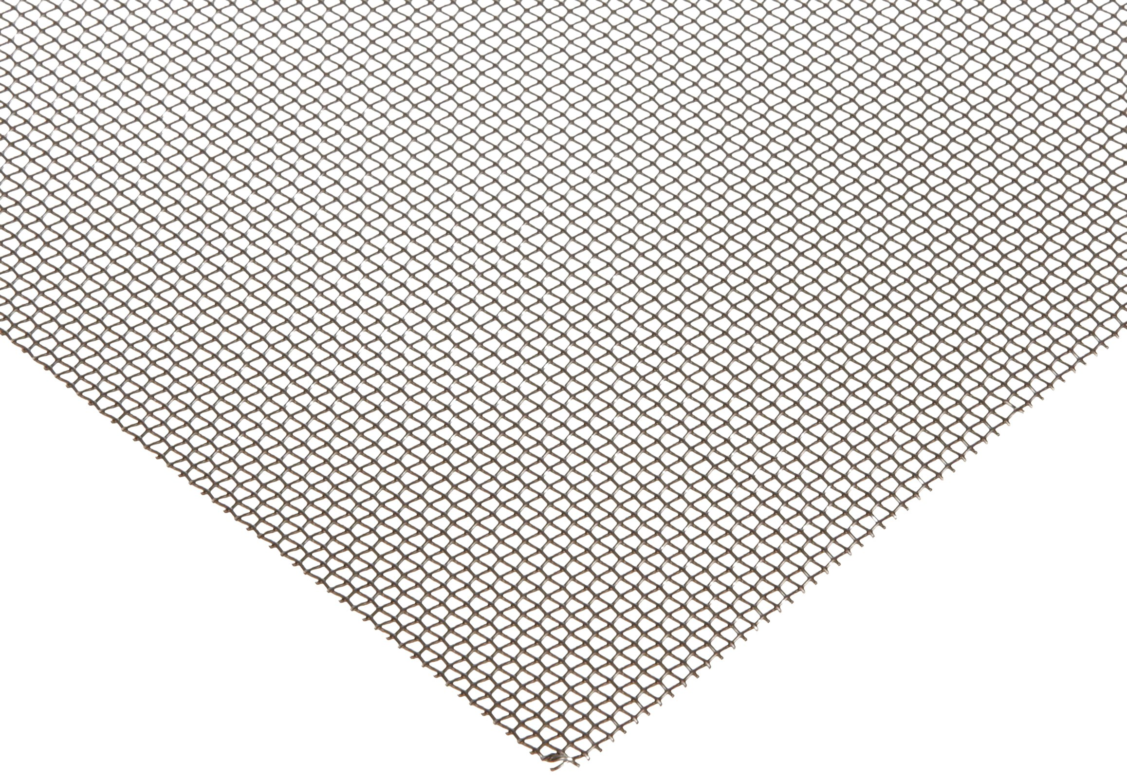 400 Nickel Woven Mesh Sheet, Unpolished