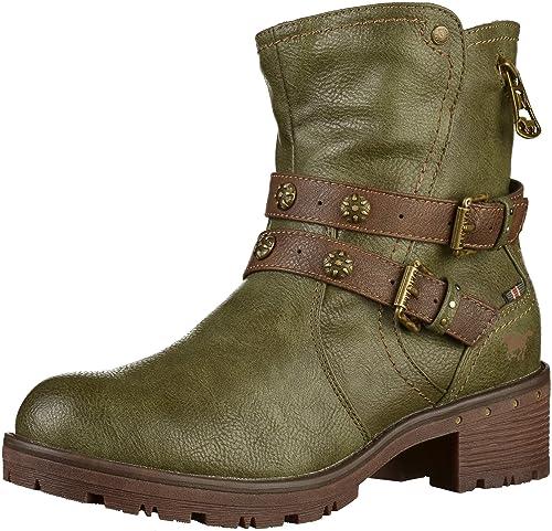 Mustang 1284-603 - Botines de caño bajo de Sintético Mujer: Amazon.es: Zapatos y complementos