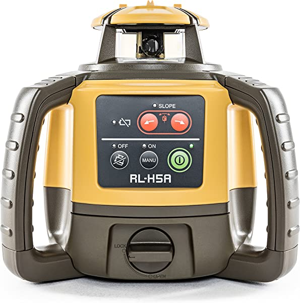 Topcon RL-H5A Horizontal Rotary Outdoor Laser Level