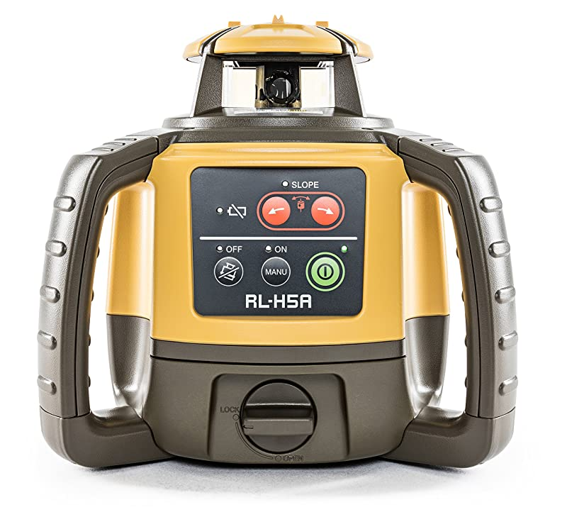 Best Rotary Laser Level: Topcon RL-H5A Self Leveling Horizontal Rotary Laser