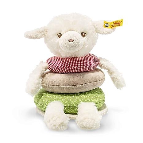 Steiff 240850 oveja LAMBA disfrazados Anillo Apilable, multicolor