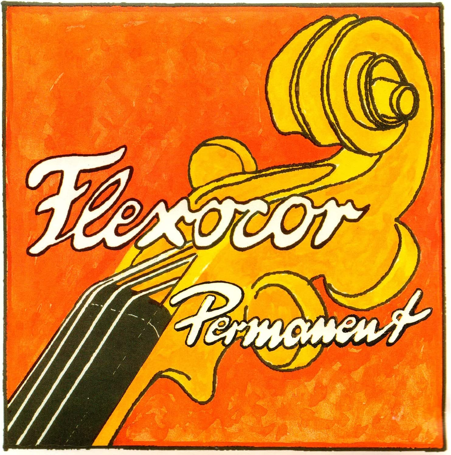Ball-End E Medium Gauge Pirastro Flexocor Permanent 4//4 Violin String Set