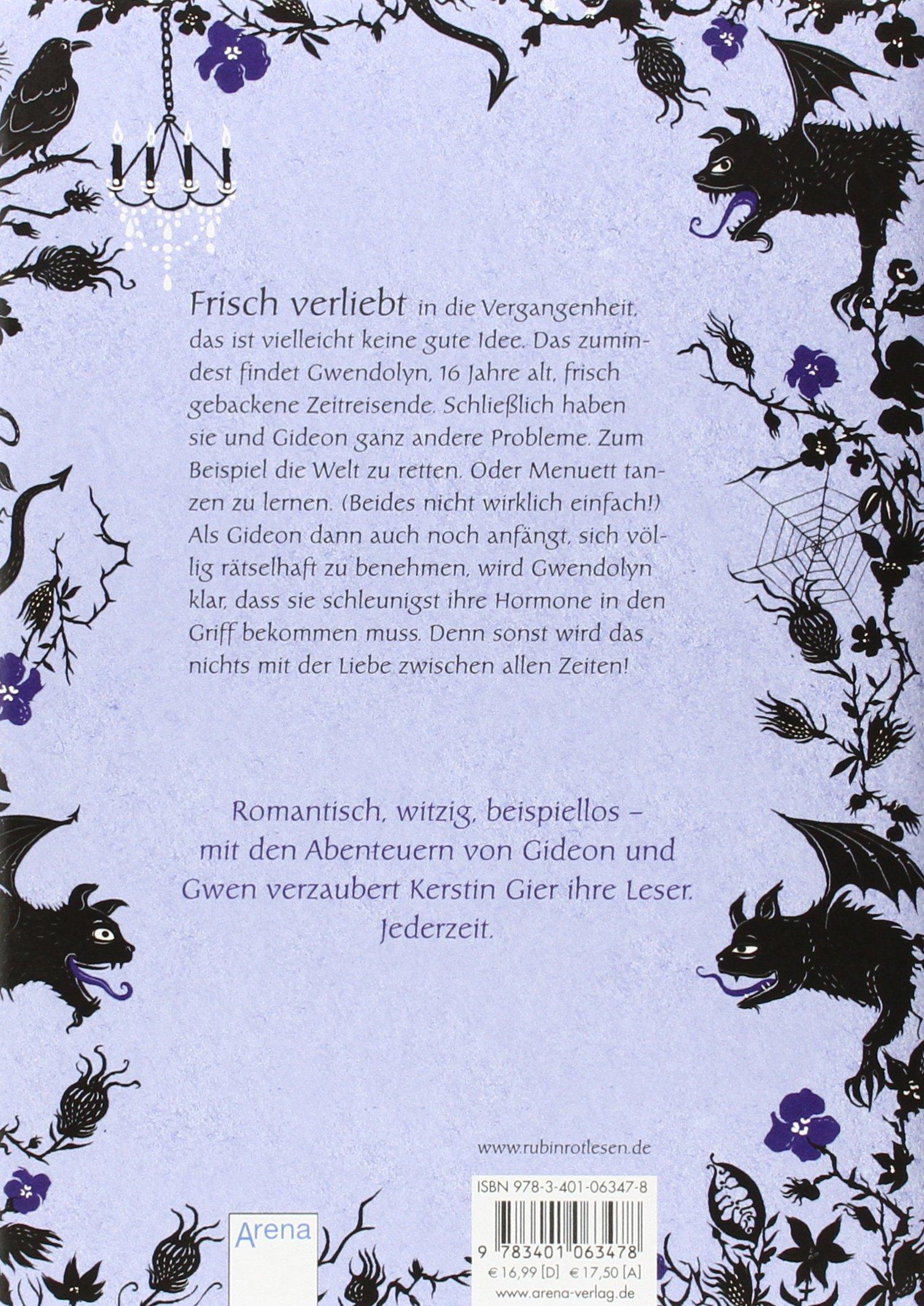 Saphirblau (edelstein Trilogie, #2): Kerstin Gier: 9783401063478:  Amazon: Books