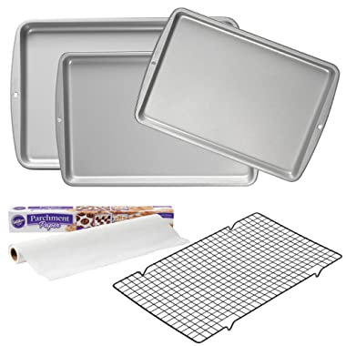 Wilton Supplies, 5-Piece Essential Cookie Baking Quality Value Set, 2109-3673, Assorted