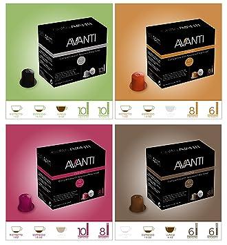 Avanti cápsulas compatibles con máquinas Nespresso: Amazon ...