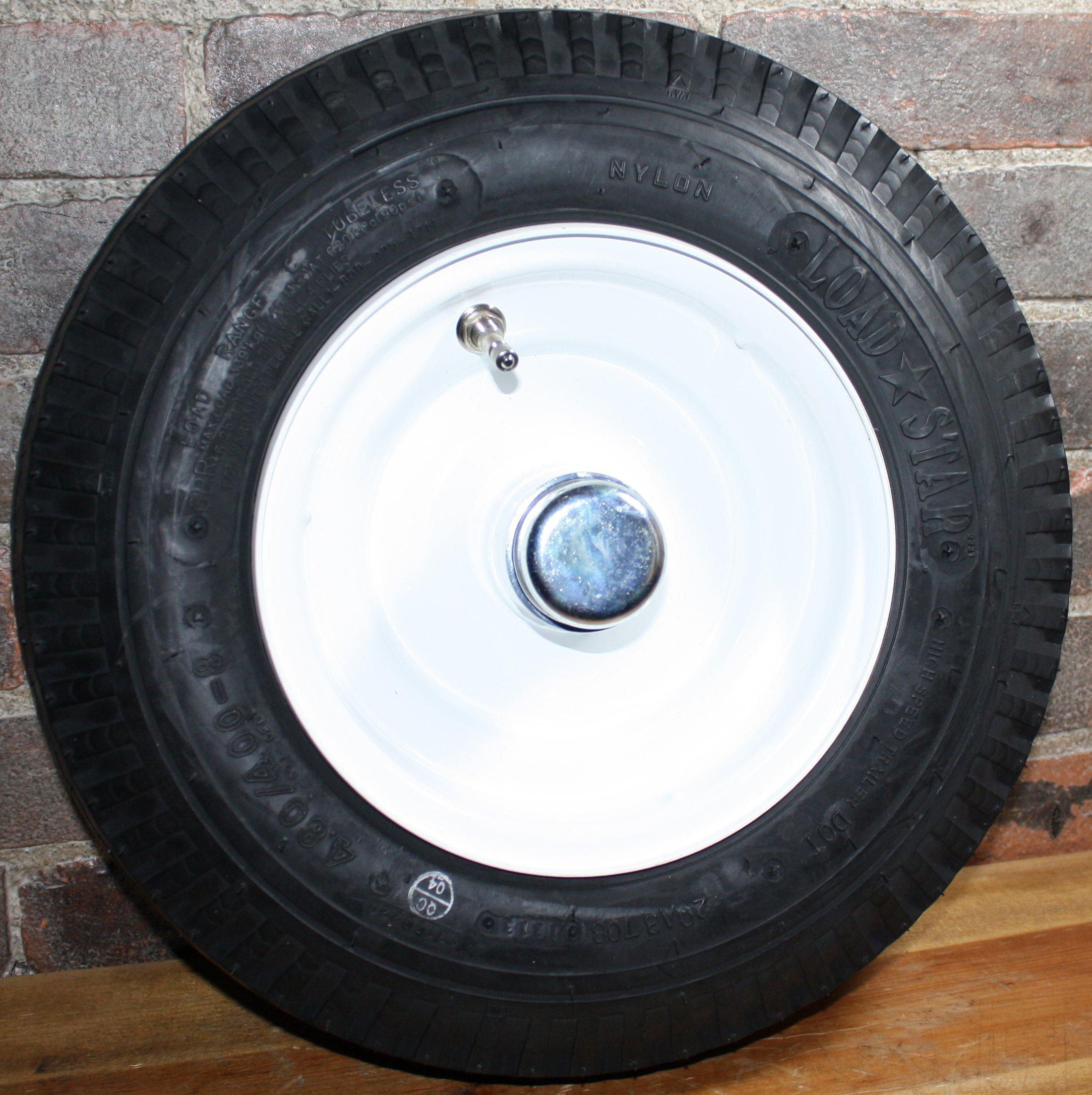 Martin Wheel 4.80/4.00-8 High Speed Trailer Log Splitter Tire Wheel Assembly DOT Approved 3/4