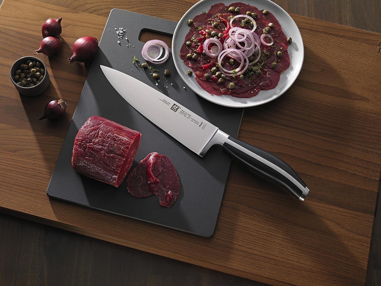 Compra Zwilling Twin Cuisine-Bloque de Cuchillos, 6 Piezas, Acero Inoxidable, Plateado, 1 cm en Amazon.es