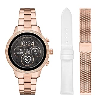 3671b56ca Image Unavailable. Image not available for. Color: Michael Kors Access  Womens Runway Touchscreen Smartwatch ...