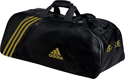 Adidas SAC DE SPORT PU noir or M: : Sports