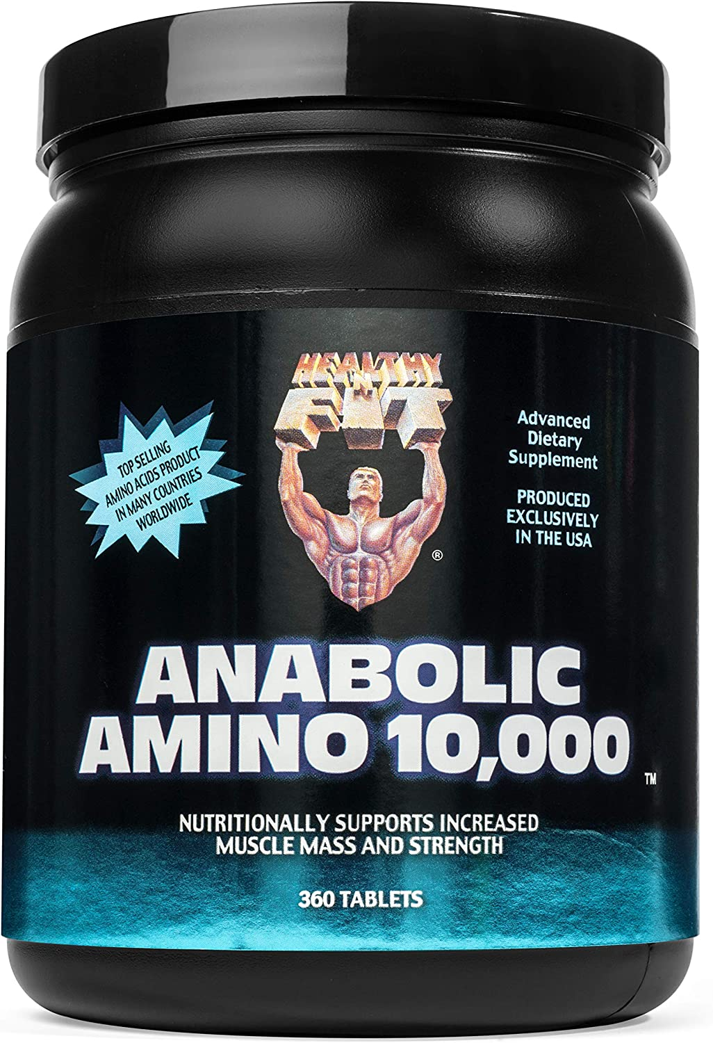 Healthy n Fit Anabolic Amino 10000 360t, Bottle