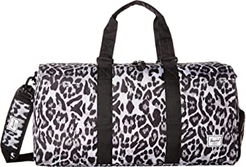 3f512148a06a Image Unavailable. Image not available for. Color  Herschel Novel Mid-Volume  Duffel Bag Snow Leopard One Size