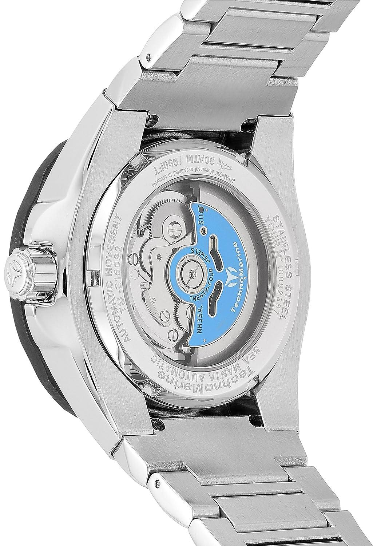 Technomarine  manta de los hombres automático reloj Casual acero  inoxidable e332ead0bdfa