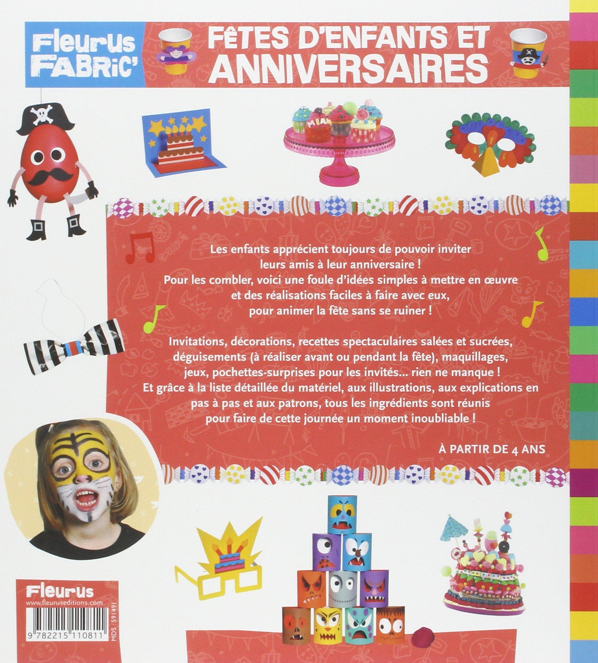Amazon.fr - Fêtes d'enfants et anniversaires - Christophe Boncens, Mayumi  Jezewski, Hélène Manche, Dominique Santrot - Livres