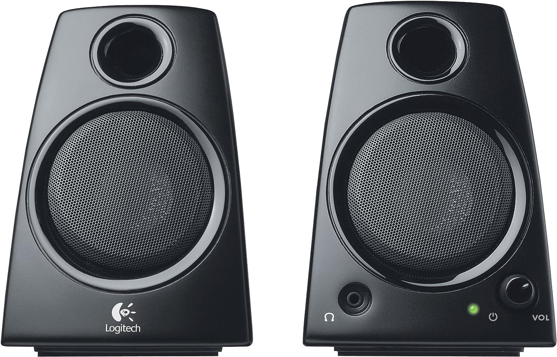 Logitech Z130 Pc Lautsprecher Stereo Sound 2 Computer Zubehör