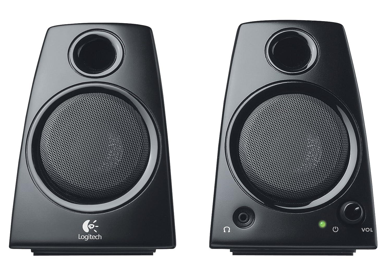 Logitech Z130 - Altavoces para ordenador de 5 vatios, color negro 980-000418