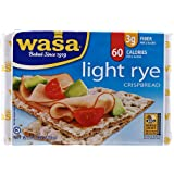 Wasa Crispbread, Light Rye, Boxes, 9.5 oz