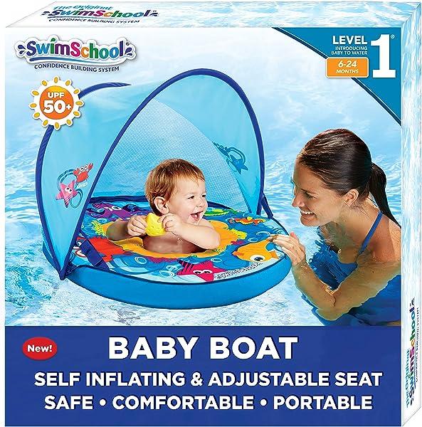 SwimSchool Self-Inflating Baby Boat