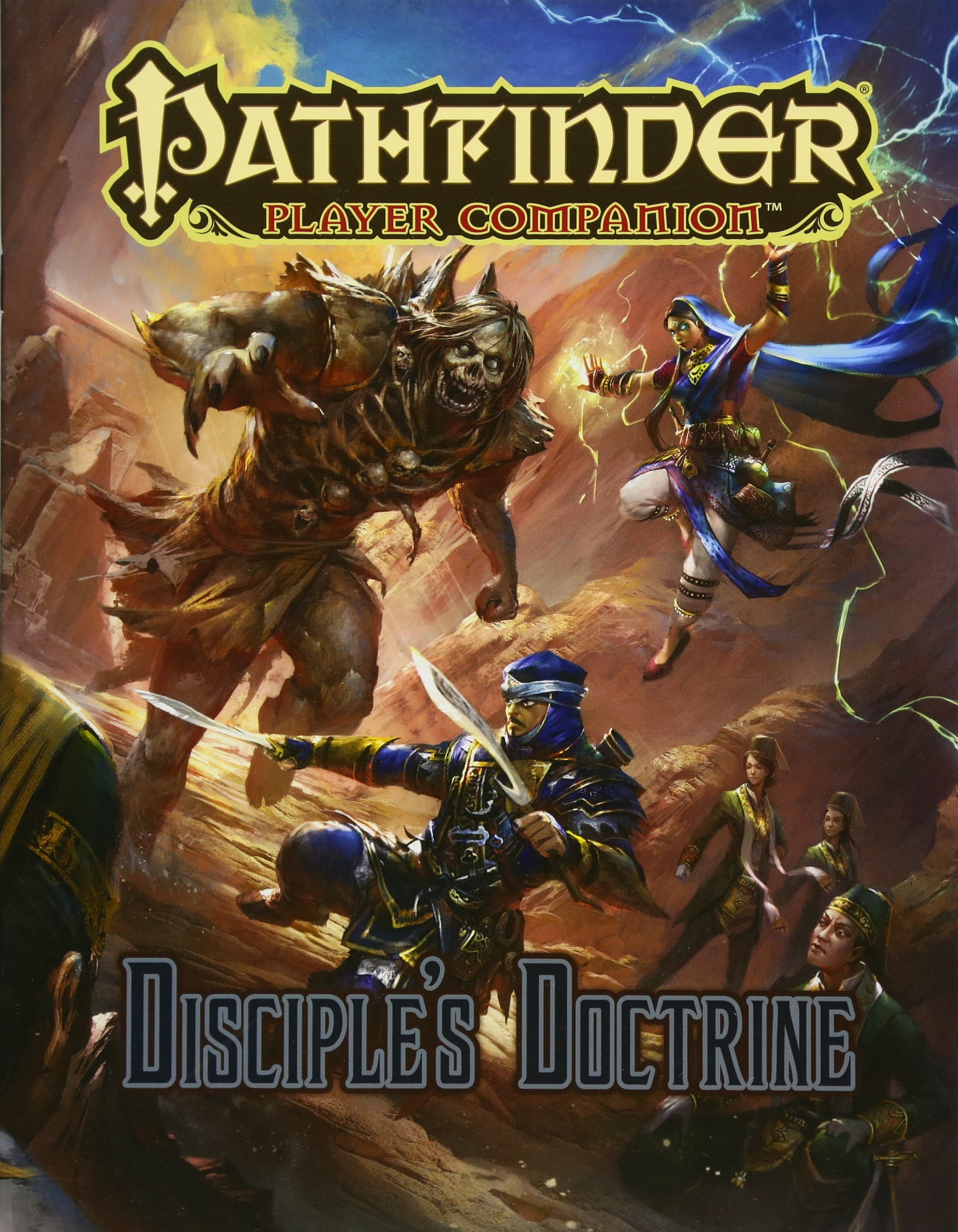 Pathfinder Player Companion: Disciple's Doctrine: Paizo Staff:  9781640780118: Amazon.com: Books