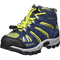 Columbia Niños Zapato de Trail, Impermeable, Childrens North