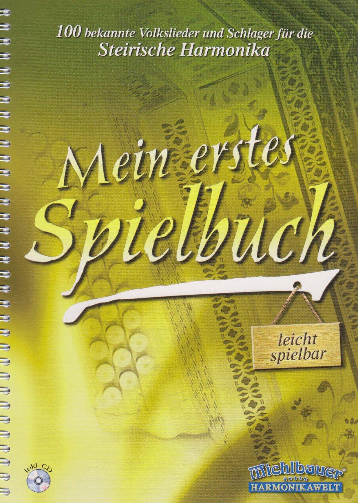 Mein Erstes Spielbuch. Handharmonika Musiknoten Michlbauer GmbH B0002CX4H2