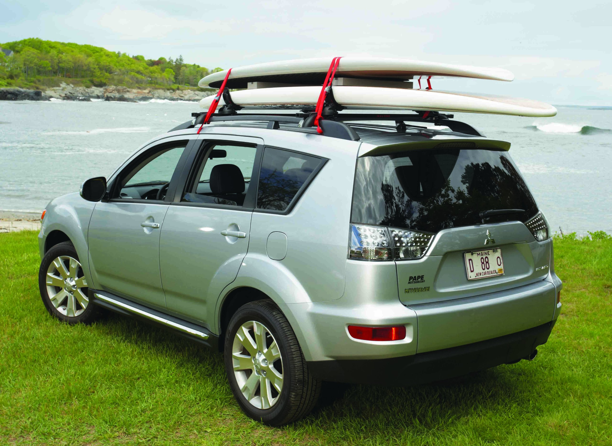 Best Rated In Surfboard Car Racks Helpful Customer Reviews Hit Auta 2040 Electric Antenna Universal Fitting Malone Auto Maui 2 Two Board Fit Saddle System Product Image