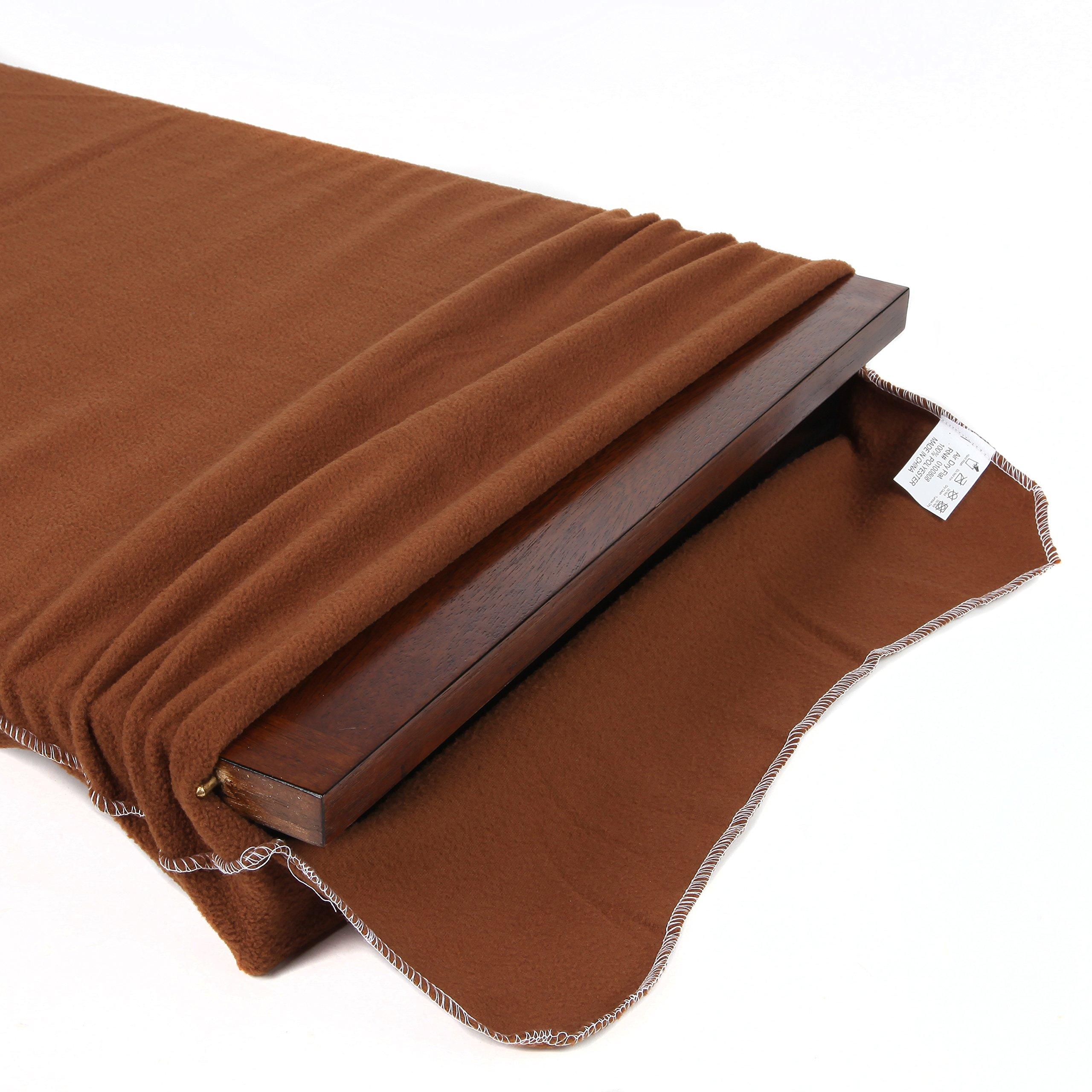 Soft Flannel Table Leaf Storage Bag (42'' X 16'')