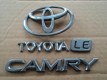 Nissan Maxima trunk emblem badge decal logo OEM Factory Genuine Stock chrome