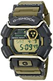 Casio G-Shock Quartz Watch with Resin Strap, Green, 55 (Model: GD400-9CR)
