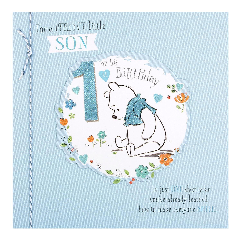 Happy 1st Birthday Son Card Amazon fice Products