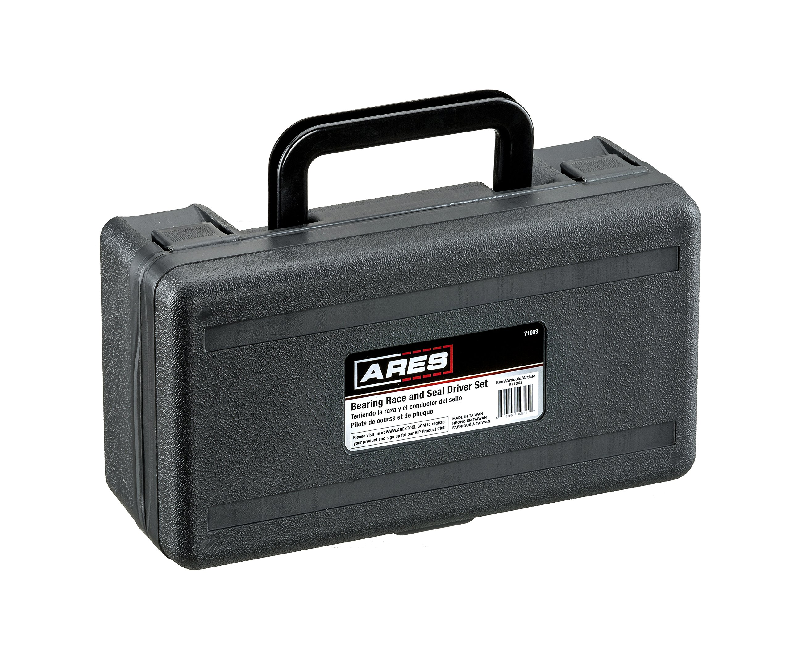 ARES 71003 | Bearing Race and Seal Driver Set | Universal Kit Allows for Easy Race and Seal Installation Storage Case Included by ARES (Image #6)