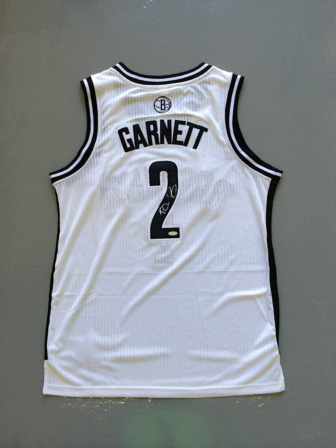 2c67251af5f7 Kevin Garnett Signed Brooklyn Nets White Jersey STEINER at Amazon s Sports  Collectibles Store