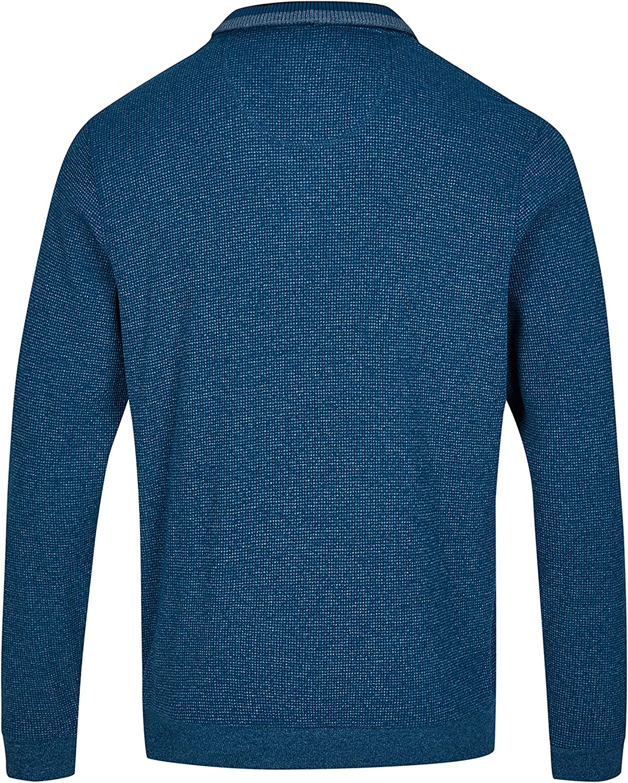 hajo Polo & Sportswear Herren Struktur-Sweatshirt Jeans