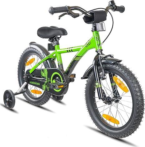 Prometheus Bicicleta Infantil | 16 Pulgadas | niño y niña | Verde ...