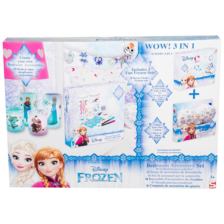Disney Frozen Die Eiskönigin – 24-teiliges Bastelset mit magischen ...