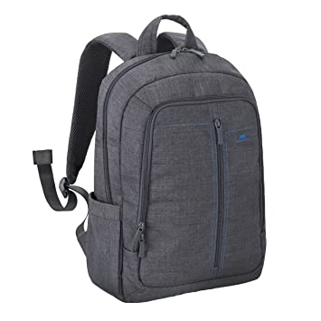 Amazon.com: Rivacase 15.6 Inch Laptop Backpack Slim Light Water ...