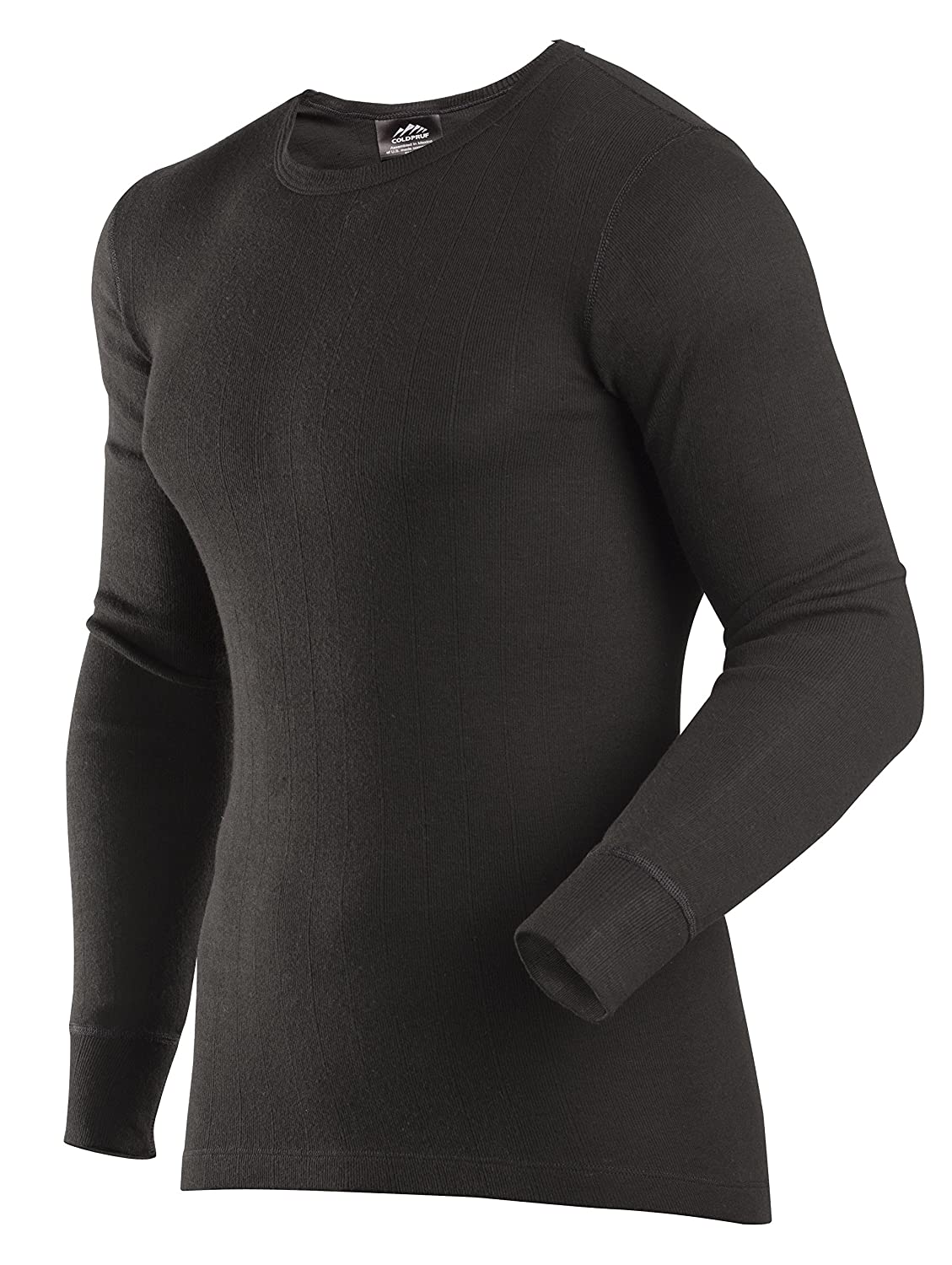 ColdPruf Men's Enthusiast Single Layer Long Sleeve Crew Neck Base Layer Top ColdPruf Baselayer 560165