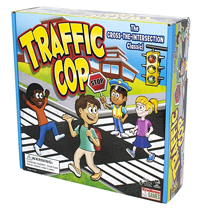 Traffic Cop: The School Yard Game of Stop and Go: Amazon.es ...