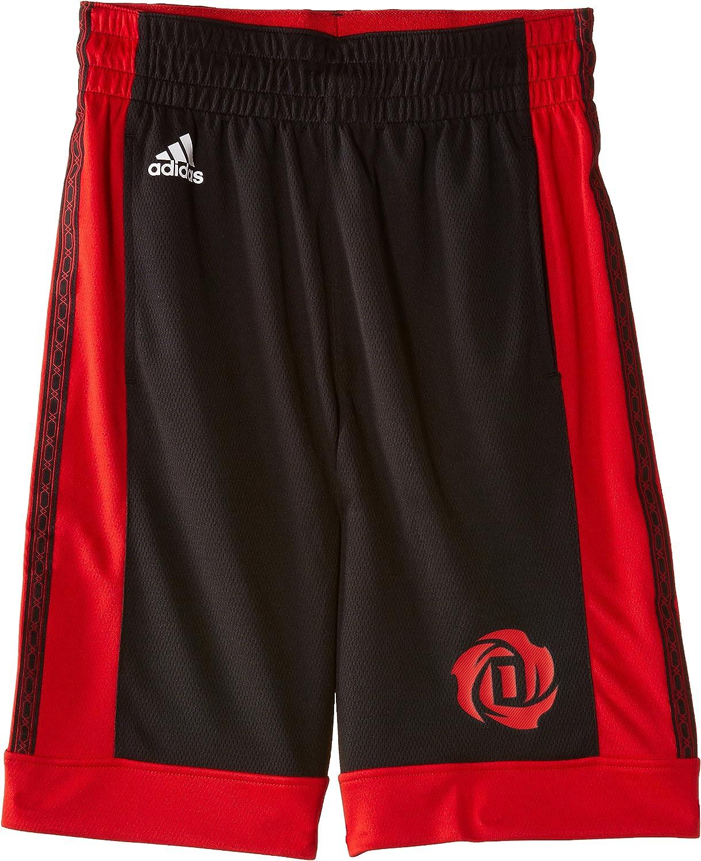 Pantalones Cortos de Baloncesto para ni/ño adidas Youth Rose