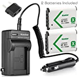 Kastar 2-Pack Battery and Charger for Sony HDRCX405 HDRCX440 HDRPJ440 HDR-PJ410 Handycam Cam
