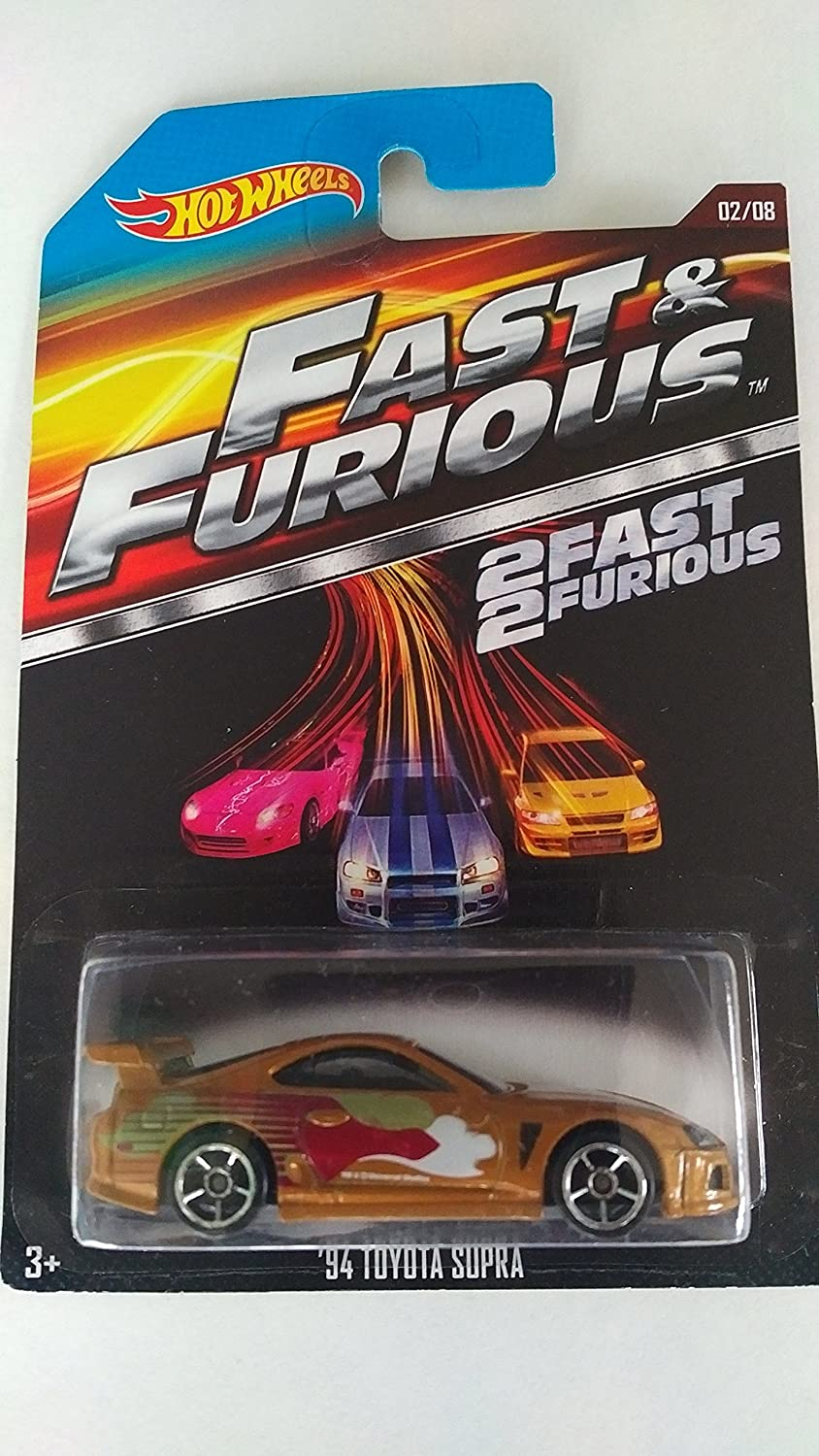 toyota supra fast and furious 2. 2015 hot wheels fast u0026 furious 28 u002794 toyota supra gold amazoncouk toys games and 2 r