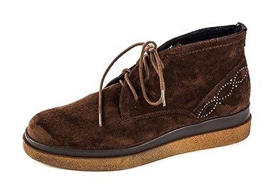 Wrangler Damen Holly Plateau Desert Boots Braun Gr. 37