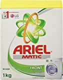 Ariel Matic Front Load Washing Detergent Powder - 1 kg (Rupees 30 off)