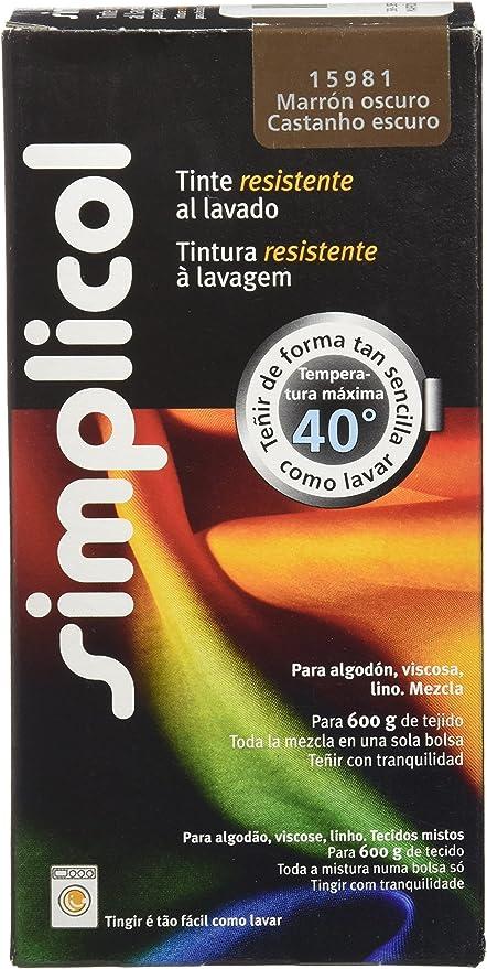 Dintex Tinte para Ropa en Lavadora, Marrón: Amazon.es: Hogar