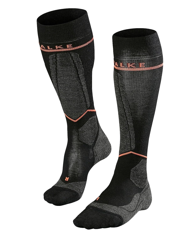 FALKE Damen Socken Sk Energizing Wool Skiing Kniestrümpfe