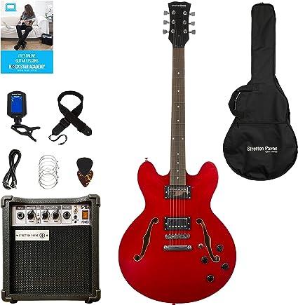 Stretton Payne 335 Guitarra eléctrica semiacústica con ...