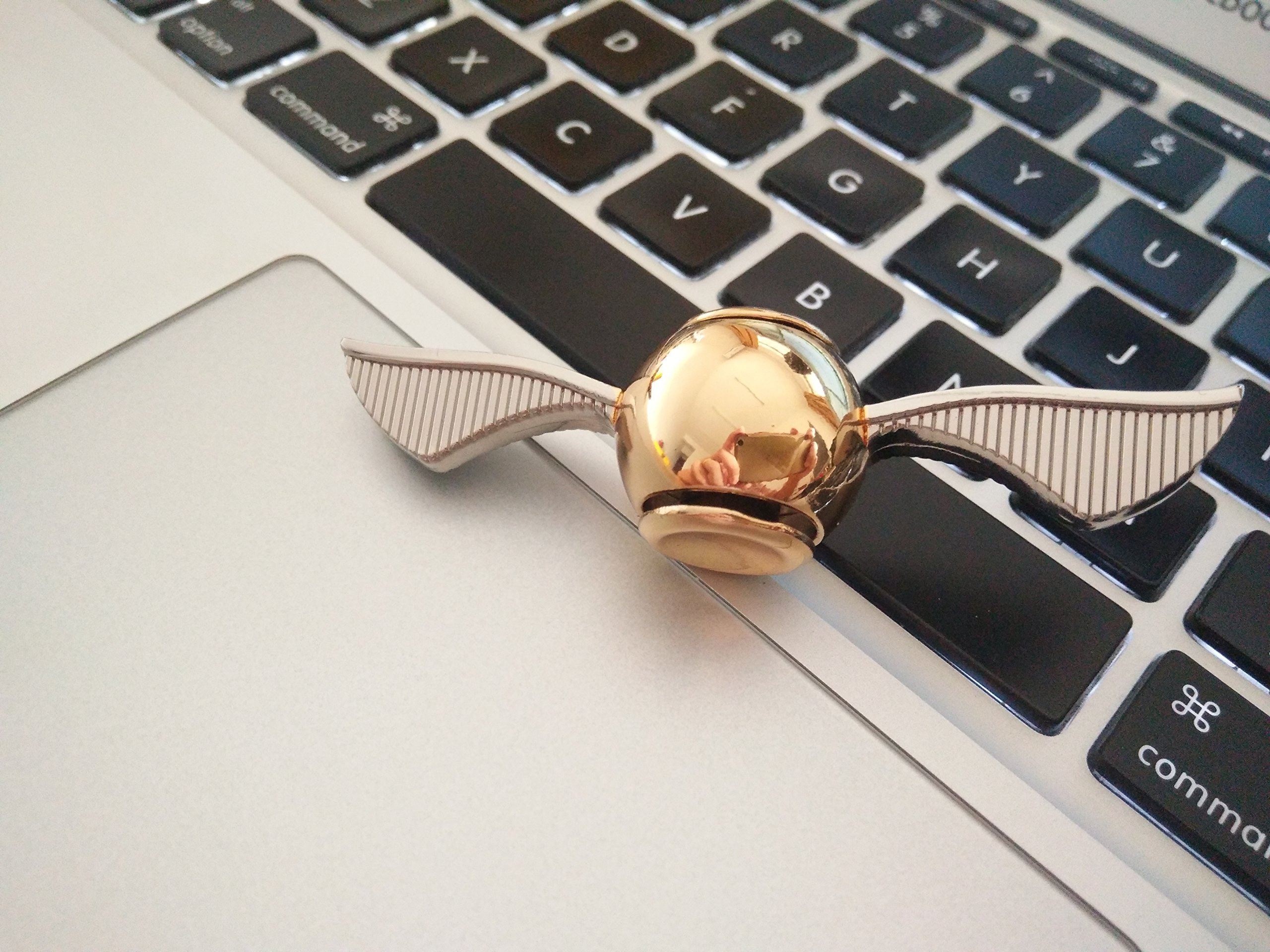 MAYBO SPORTS Wiitin Exclusive Harry Potter Fidget Hand Spinner Toy Made by Metal, The Original Golden Snitch Used in Quidditch by MAYBO SPORTS (Image #5)