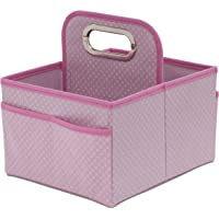 Delta Children Portable Nursery Caddy, Barely Pink